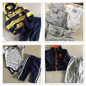 4 BabyBoy 👶🏻outfits! 9 Months (9 Pieces Total)🤗